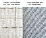 earthing sheet vs silver undersheet