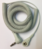 Aardingskrulsnoer 5,5 meter voor patches, polsband of aardingsmat_14