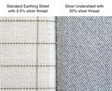 earthing sheet vs silver undersheet
