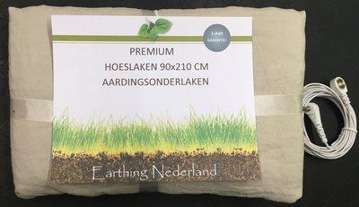 Premium aardingsonderlaken 90cm