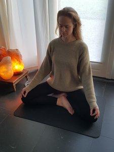 Meditatie aardingsmat met speciale aansluitdraad
